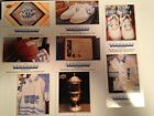 2010-2011 Upper Deck North Carolina Basketball Cards- Multiple Museum #'s