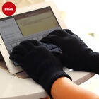 Women Touch Screen Gloves Smart Phone Tablet Knitted Winter Gloves + Package 9''