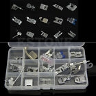 15Pcs Presser Foot Set for Janome Toyota Brother Singer Domestic Sewing Machine