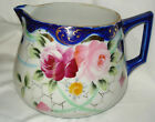 VINTAGE EARLY 1900'S TE - OH NIPPON CHINA LEMONADE / CIDER PITCHER