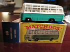 VTG NR! MIMB MATCHBOX LESNEY #68 MERCEDES COACH GREEN IN GREEN BOX