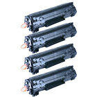 4x CE278A 78A Laser Toner Cartridge For HP LaserJet M1536dnf P1606dn Printer New