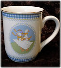 Goose / Geese Decorated Cup / Mug Otagiri Japan Design by Gibson Greeting Cards