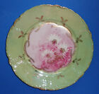 ANTIQUE PORCELAIN CABINET PLATE HAND PAINTED VICTORIAN BAVARIA ROSENTHAL c 1891