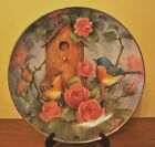 Royal Doulton 'Settling In' Bluebird Plate, Limited Edition Fine Bone China