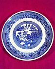 Early Blue Willow Transferware Plate - Unmarked