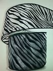 THE ROBERT STANLEY COLLECTION RIBBON- OFF WHITE  W/BLACK ZEBRA-WIRED-2.5X30' NWT