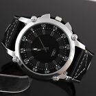 Newest Men's White Big Dial Fashion Quartz Movement Watch Wristwatch Watches