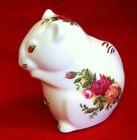 Royal Albert Old Country Roses 1962 Mouse Figurine