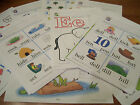 A Beka Pre K 4 Curriculun Worksheets over 75 pgs ABCs123s  Phonics Mixed lot