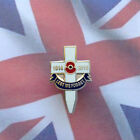 Poppy Lapel Pin / Badge # 11 - Lest We Forget 1914 - 2014