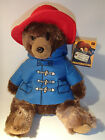 12 30CM SITTING PADDINGTON BEAR SOFT PLUSH TOY FROM THE MOVIE LICENCED ITEM