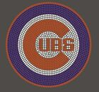 Chicago Cubs Baseball Rhinestone Transfer Bling Wholesale Avail