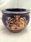 Limoges Hand Painted Planter Bowl Vase Chinese Asian Design
