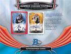 2014 Bowman Chrome Football HOBBY Box 1 AUTO RC ROOKIE FREE EXPEDITED SHIPPING