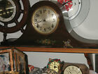 Antique Sessions Mantle Tambour Clock Un-restored Circa Early 1900's