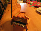SWISS REUGE OLIVE WOOD PIANO MUSIC/JEWELRY BOX - EDELWEISS SONG