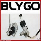 Hydraulic Front Disc Brake Caliper System + Pads 250cc PIT Trail Dirt Motor Bike
