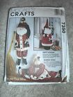 McCalls  holidaySanta & Mrs Claus draft door stoppers sewing pattern  OOP
