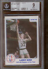 1985 Star Last 11 ROY's Rookie of the Year Larry Bird #6 BGS 9 w 9 9 9.5 9