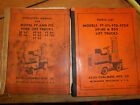 ALLIS-CHALMERS FORK LIFT TRUCK FT FTL 30 FT FTL 40 OPERATORS PARTS LIST MANUAL