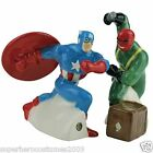 Captain America vs. Red Skull Salt and Pepper Shakers Marvel Comics New 22918
