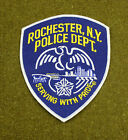 27989) Patch Rochester New York Police Department Insignia Sheriff Badge