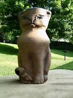 Hand Thrown -  Cat - Vase / Creamer - Signed  - Free Shipping