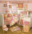 CoCalo TROPICAL PUNCH 16pc Crib Bedding set *Mobile*Toy* BUMPER RARE Girls