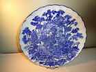 LARGE ANTIQUE - 1850 TO 1899 BLUE/WHITE  IMARI PORCELAIN CHARGER OR PLATE