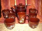 Vintage Japanese Tea Pot With Coffee & Tea Cups Large Lot