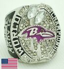 Ravens Super Bowl XLVII Championship Replica Ring with Display case