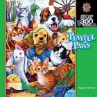 Masterpieces Puzzles Playful Paws Playing in the Yarn jigsaw 300 piece puzzle