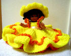 Fibre Craft Doll Air Freshener with Handmade Outfit 5 3/4