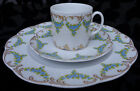 ROSENTHAL CLASSIC ROSE COLLECTION SALAD PLATE & DEMTASSE / ESPRESSO CUP & SAUCER