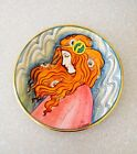 Vintage Veneto Flair LaBelle Femme Tiziano Limited Edition Plate SIgned Numbered