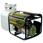 Liquid Propane Generator Emergency Camping Lightweight Portable Power Home