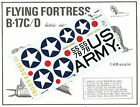 1/48 Koster B-17 C, D, E and Late G Flying Fortress Vac Formed Conversion