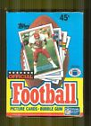 1989 Topps Football Unopened Box Michael Irvin and Sterling Sharpe Rookies
