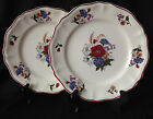 Lot of 2 antique vintage French Sarreguemines faience Agreste 9.75