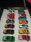 Mustang slot car lot of 16. AFX? Tyco? Aurora? GT SVO TRANSFORMERS