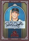 2005 Donruss Diamond Kings Crowning Moment DAVID WRIGHT New York Mets AUTO 05 10