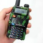 BAOFENG UV-5R Camouflage 136-174/400-520MHz CTCSS Dual Band HAM Walkie Talkies
