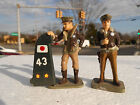 Frontline Figures AW-6, WW2 Two Flying Tigers with zero tail, metal US pilots