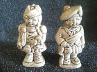German or swiss or Boy & Girl traditional dress Salt & Pepper Shakers - EUC
