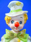 Relpo Hobo Clown Ceramic Planter Removable Head Hat White Coat Toes Out of Shoes