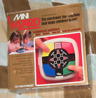 Vintage 1987 VTech MINI WIZARD Simon type game with box, manual and batteries
