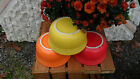 GUSTO BOWL TANGERINE ORANGE HOMER LAUGHLIN FIESTA 23 OZ.