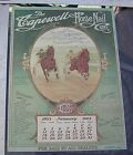 CAPEWELL HORSE NAIL 1903 SULKY RACING CRESCEUS PRINT MAILAWAY WSTRN HORSEMAN