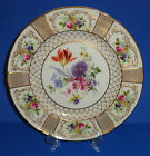 ANTIQUE ROYAL DOULTON PLATE ENGLISH PORCELAIN HAND PAINTED GOLD GILT LILY 1925 5